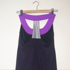me2roo Tops - Me 2 Roo Womens Purple Athletic Yoga Top Size M